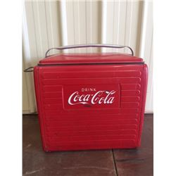 VINTAGE RED COCA COLA COOLER