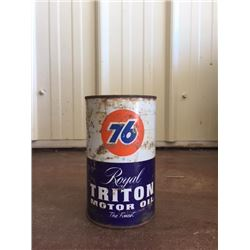 FULL CAN OF ROYAL TRITON MOTOR OIL