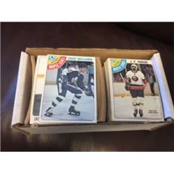 1978 HOCKEY CARDS O-PEE-CHEE FULL BOX