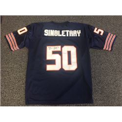 MIKE SINGLETARY SIGNED CHICAGO BEARS JERSEY