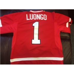ROBERTO LUONGO TEAM CANADA OLYMPIC SIGNED JERSEY