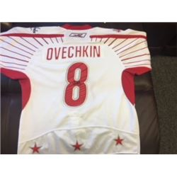 ALEX OVECHKIN JERSEY ALLSTAR GAME REBOK AUTHENTIC NHL SIGNED