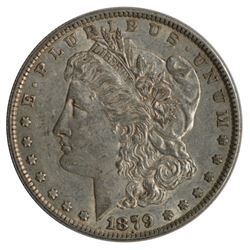 1879 $1 Morgan Silver Dollar Coin