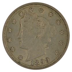 1899 Liberty Nickel Coin