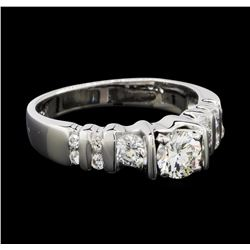 1.00 ctw Diamond Ring - 18KT White Gold