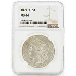 1899-O MS64 NGC Morgan Silver Dollar