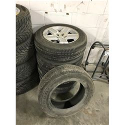 4 BRIDGESTONE TIRES FOR A CHRYSLER OR FORD 17INCH