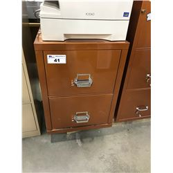 2 DRAWER LEGAL FIRE PROOF FILE CABINET