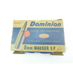 DOMINION 8MM MAUSER AMMO