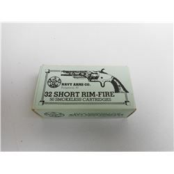 NAVY ARMS CO. 32 SHORT R.F. AMMO