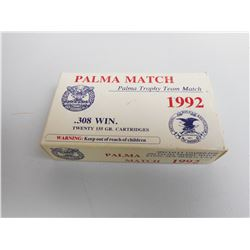 PALMA MATCH 308 WIN 1992 EDITION AMMO