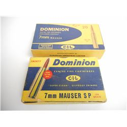 DOMINION 7MM MAUSER AMMO