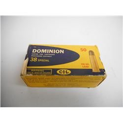 DOMINION 38 SPL AMMO