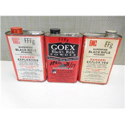 GOEX SUPERFINE BLACK RIFLE POWDER