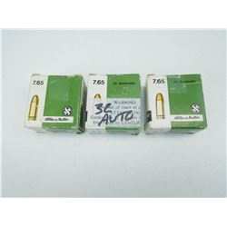 SELLIER & BELLOT 7.65MM (.32 AUTO) AMMO