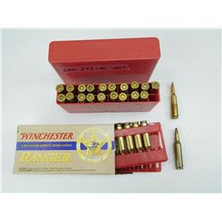 ASSORTED 243 WIN AMMO/RELOADS