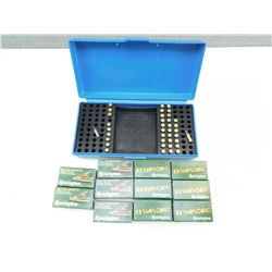 ASSORTED 22 AMMO & CASE
