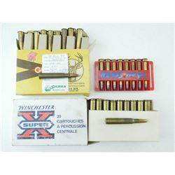 ASSORTED 303 BRITISH & 30-06 RELOADS