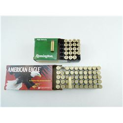 ASSORTED 44 REM MAG AMMO & BRASS