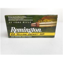 REMINGTON 22 YELLOW JACKET HP AMMO