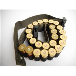 12 GA SHOTGUN AMMO & BELT