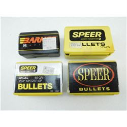ASSORTED 22 CAL BULLETS