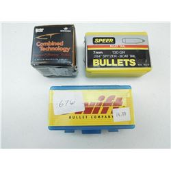 ASSORTED 7MM BULLETS