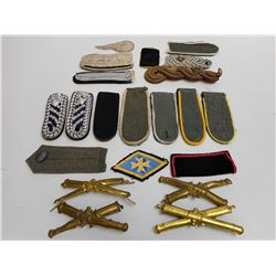 ASSORTED MILITARY PIECES