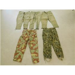 ASSORTED MILITARY PANTS