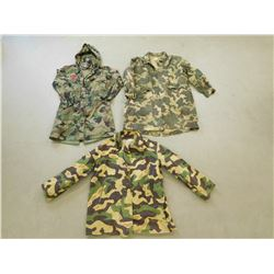 ASSORTED MILITARY & MILITARY STYLE JACKETS
