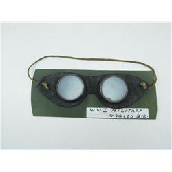 WWI/WWII MILITARY GOOGLES