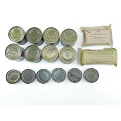 ASSORTED RATIONS & FIRST AID