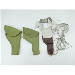 ASSORTED MILITARY HOLSTER