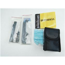 WEAVER MOUNTS & BUSHNELL SOFT CASE