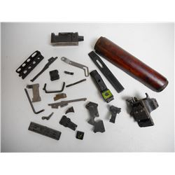 ASSORTED GUN & SCOPE PARTS
