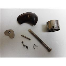 ANTIQUE FOREHAND & WADSWORTH PAT 1861 REVOLVER PARTS
