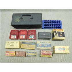 ASSORTED AMMO BOXES, CONTAINERS & TRAYS