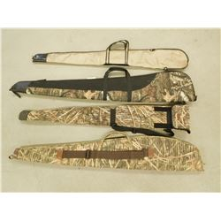 ASSORTED CAMO RIFLE CASES