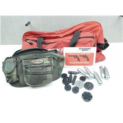 ASSORTED BAGS & AIRGUN ACCESSORIES