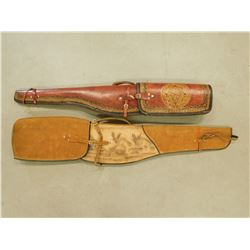 LEATHER RIFLE CASES
