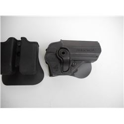 ASSORTED PLASTIC HOLSTERS