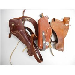 ASSORTED SHOULDER HOLSTERS