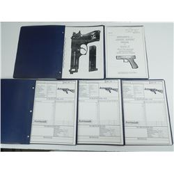 ASSORTED PHOTOCOPIED FIREARMS NOTES
