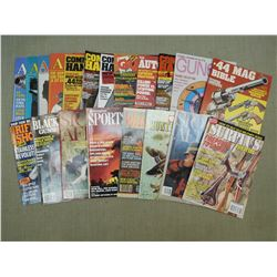 ASSORTED FIREARMS/ HUNTING MAGAZINES
