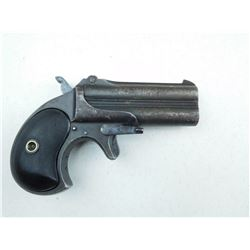REMINGTON , MODEL: DOUBLE DERRINGER MODEL 3 , CALIBER: 41 SHORT RIM FIRE