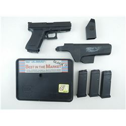 GLOCK , MODEL: 19 , CALIBER: 9MM