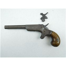 ETHAN ALLEN , MODEL: 22 RIM FIRE CENTRE HAMMER SINGLE SHOT PISTOL , CALIBER: 22 SHORT