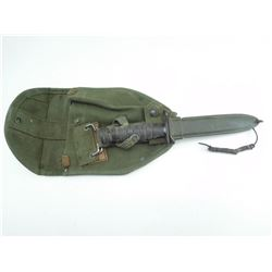 USM4 BAYONET WITH SCABBARD AND INTRENCHING TOOL COVER WITH HOLSTER ATTACHMENTS