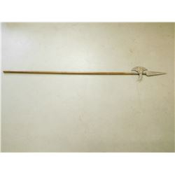 ORNAMENTAL PIKE WITH WOOD HANDLE