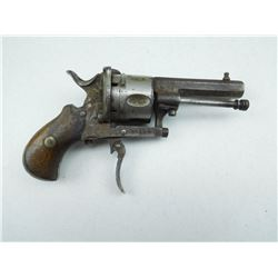 UNKNOWN  , MODEL: LE FAUX CHAUX TYPE , CALIBER: 8MM PIN FIRE